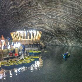 Visit the Salina Turda underground theme park - Bucket List Ideas
