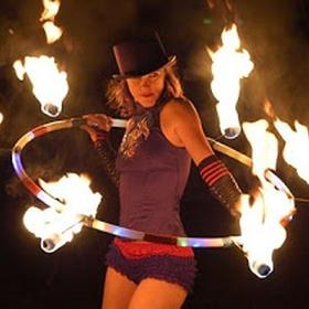 Dance with a fire Hoop - Bucket List Ideas