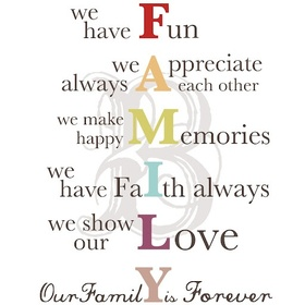 Create A Family Mission Statement - Bucket List Ideas