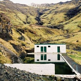 Swim in Seljavallalaug in Iceland - Bucket List Ideas