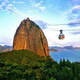 Stand at the top of Sugar Loaf Mountain in Rio - Bucket List Ideas