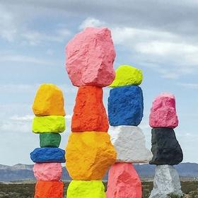See the seven magic mountains - Bucket List Ideas