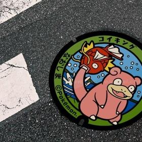 Spot a Pokemon manhole cover - Bucket List Ideas