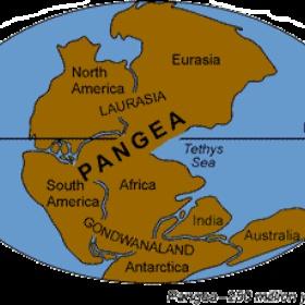 Copy and paste a worldmap untill I made Pangea - Bucket List Ideas