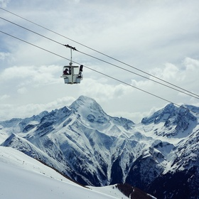 Ride a gondola in the mountains - Bucket List Ideas
