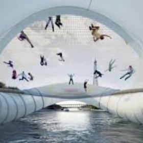 Bounce across trampoline bridge paris (if an when it's done...) - Bucket List Ideas