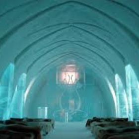 Sleep in an ice hotel - Bucket List Ideas