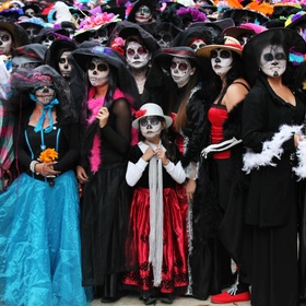 Participate in a Day of the Dead celebration in Mexico - Bucket List Ideas