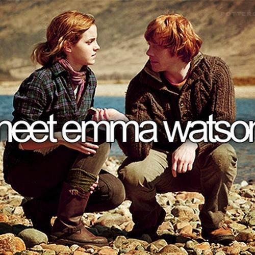 Meet Emma Watson - Bucket List Ideas