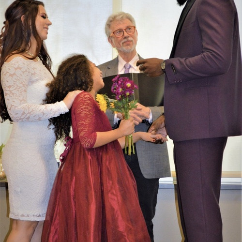 Witness my husband say vows to my daughter - Bucket List Ideas