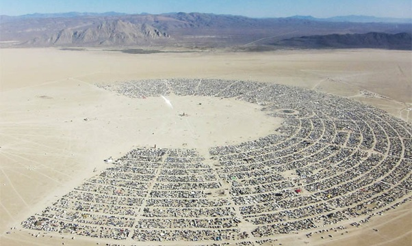 Go to Burning Man - Bucket List Ideas