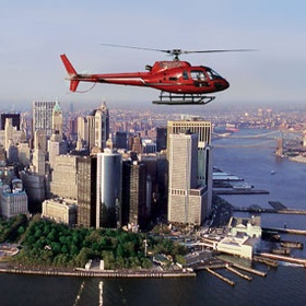 Travel by helicopter - Bucket List Ideas
