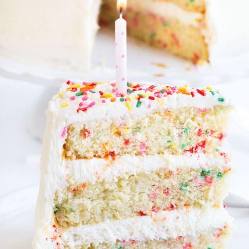 Bake a Homemade Funfetti Layer Cake - Bucket List Ideas