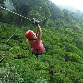 Go zip lining through a rainforest - Bucket List Ideas