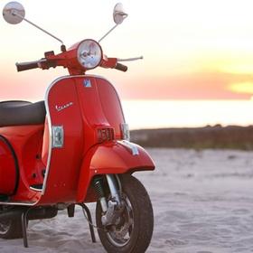 Ride a Vespa - Bucket List Ideas