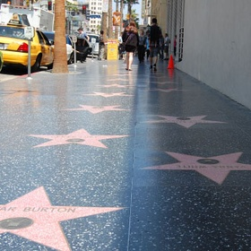 Visit the walk of fame - Bucket List Ideas
