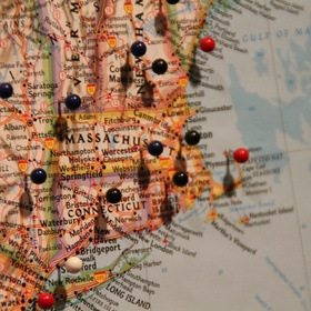 Buy a map of the world and pin all the places I have been - Bucket List Ideas