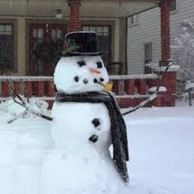 Build a proper snowman - Bucket List Ideas