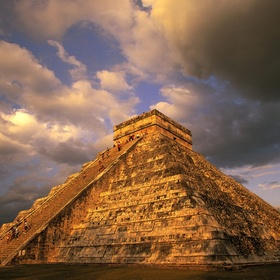 To Gaze Upon the Golden Glow of Ancient Stone Steps of a Mayan Temple Pyramid - Bucket List Ideas