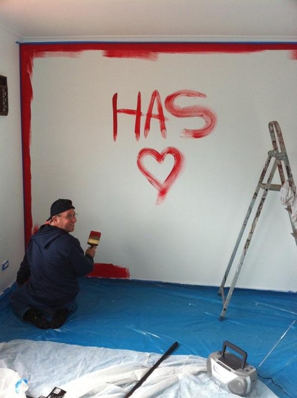 Paint my room red! - Bucket List Ideas