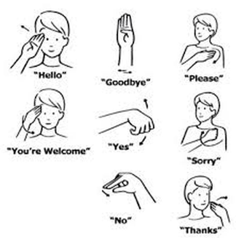 Bucketlist » Learn American Sign Language (asl) (Celine