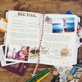 Start and fill a travel journal - Bucket List Ideas
