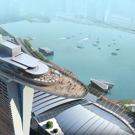 Stay 1 night in the Marine Bay Sands Hotel, Singapore - Bucket List Ideas