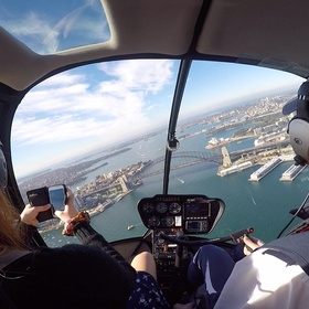 Fly in a Helicopter Over an Amazing View - Bucket List Ideas