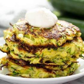 Make zucchini pancakes - Bucket List Ideas