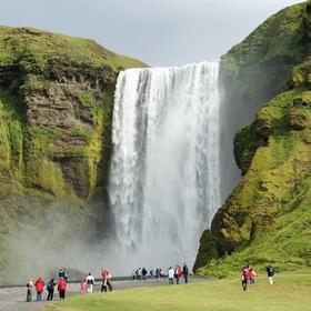 Go see Skógafoss Falls in Iceland - Bucket List Ideas