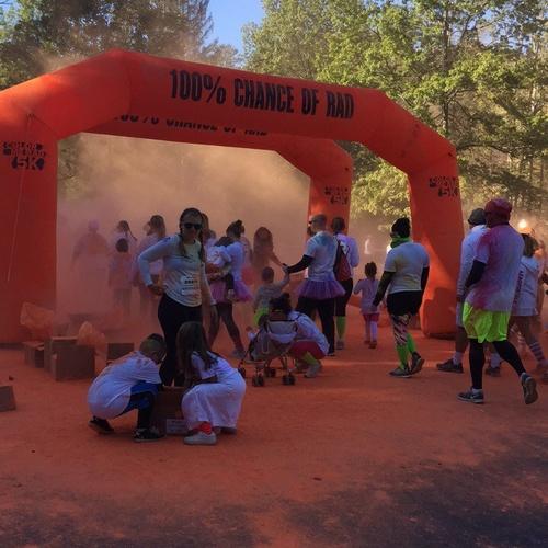 Participate in a Color Run! - Bucket List Ideas