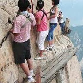 Hike Huashan trail~China - Bucket List Ideas