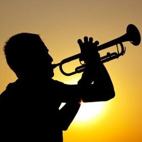 Play trumpet on the beach - Bucket List Ideas