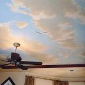 Paint a Ceiling - Bucket List Ideas