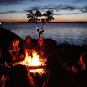 Gather friends around a campfire - Bucket List Ideas