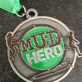 Enter and finish the Mud Hero obstacle course - Bucket List Ideas