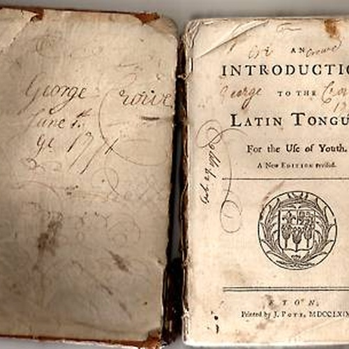 Learn Latin - Bucket List Ideas