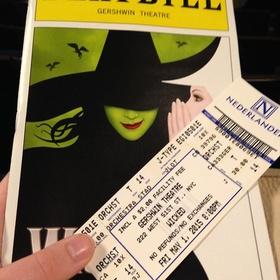See Wicked on Broadway - Bucket List Ideas