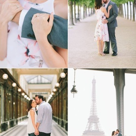 Take romantic photos at the Eiffel Tower with my Husband - Bucket List Ideas