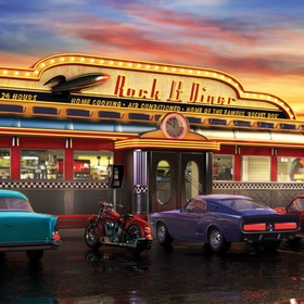 Eat at a Typical American Diner - Bucket List Ideas