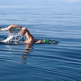 Swim for a 1 km in an open water - Bucket List Ideas