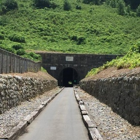 Walk in the haunted tunnel in Georgia - Bucket List Ideas