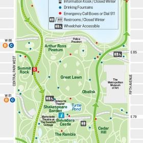 Explore all of Central Park - Bucket List Ideas