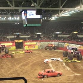See a monster truck rally - Bucket List Ideas