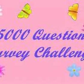 Complete the 5000 question survey - Bucket List Ideas