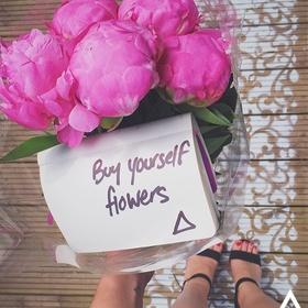 Buy flowers for myself - Bucket List Ideas