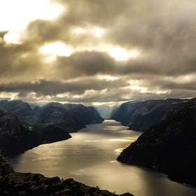 Camp overnight to watch the sun rise at Trolltunga - Bucket List Ideas