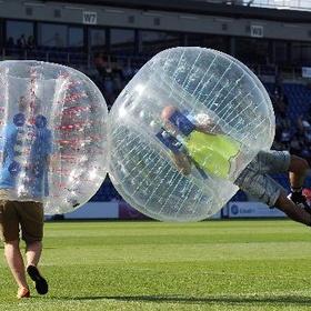 Play bubble football - Bucket List Ideas