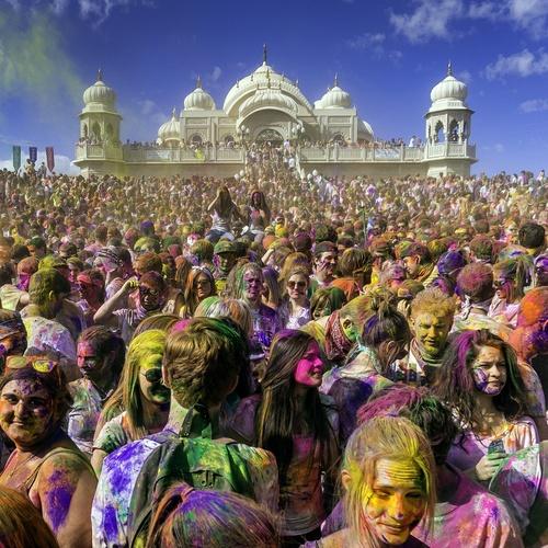 Celebrate Holi in India - Bucket List Ideas