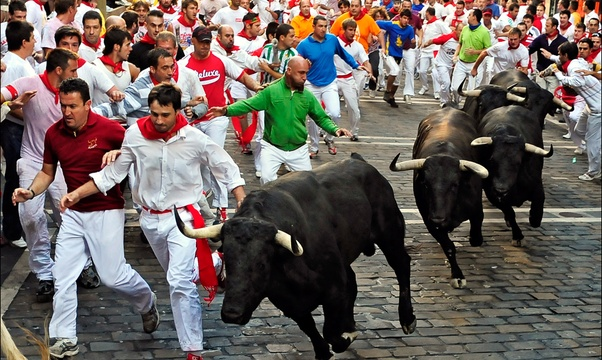 Run with the bulls - Bucket List Ideas